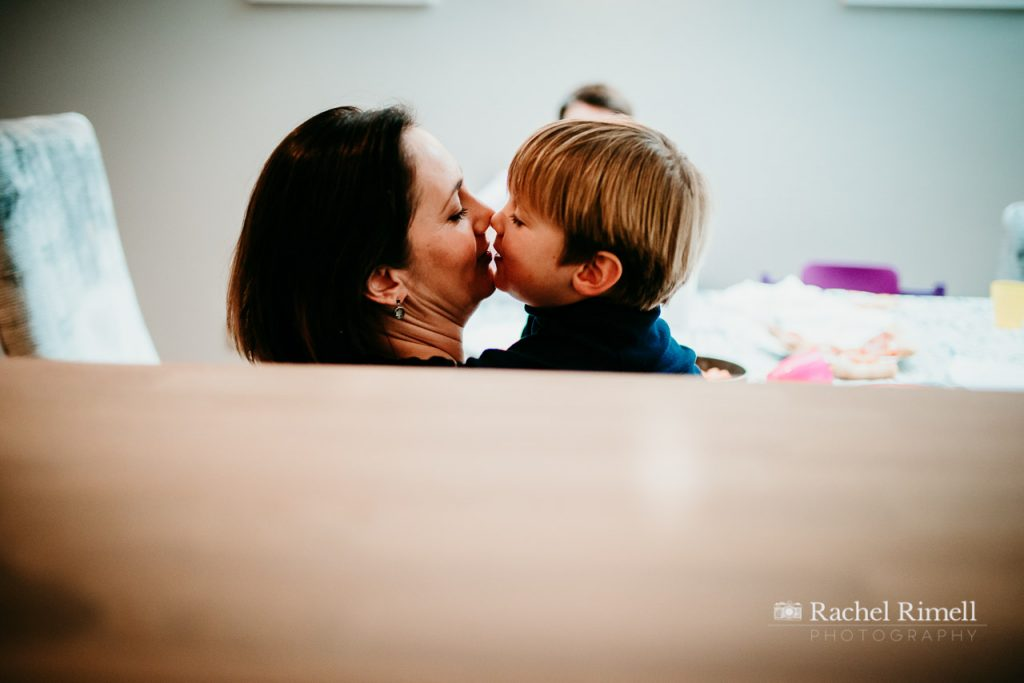 Best South London family photographer - day in the life documentary family photography London