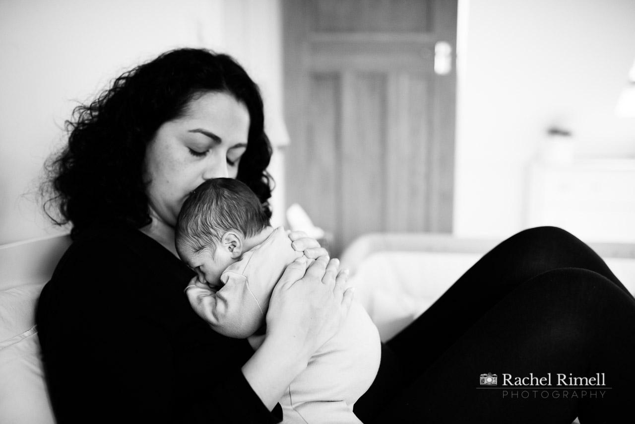 natural newborn and baby photographer London