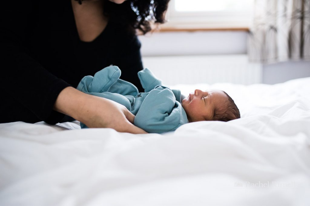 Documentary baby photography London