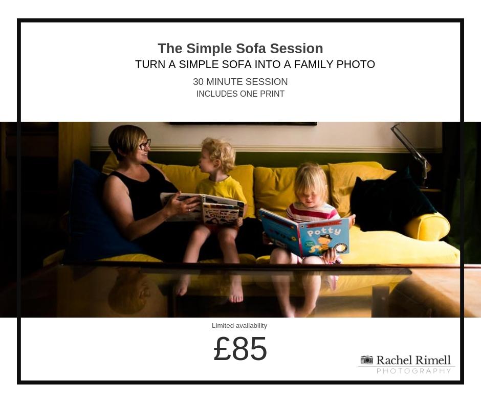 London natural family photographer mini session