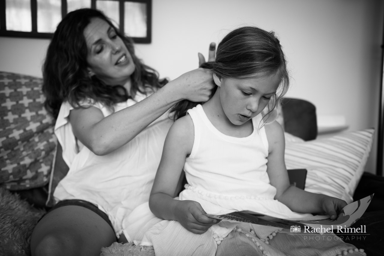 documentary mother brushing daughter's hair London
