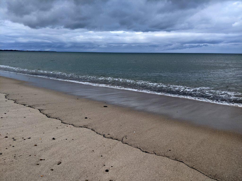 Northumberland sea line